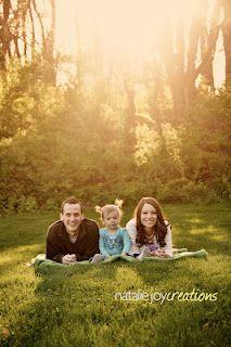 family portraits...nice back light.