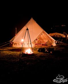 SoulPad Cotton Canvas Bell Tents