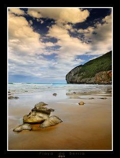 Playa de Berria. Santoña. Cantabria