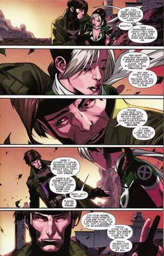 shieldagentofindiana: And this is why I will always ship Gambit And Rogue more then Rogue and Magneto. Because Gambit loves Rogue so much I...