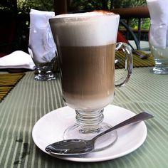 Costa Rican Coffee Panna Cotta With Bittersweet Chocolate-Rum Sauce ...