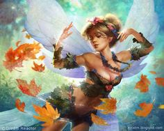 Storm Fairy | Illustration Art | The Design Inspiration