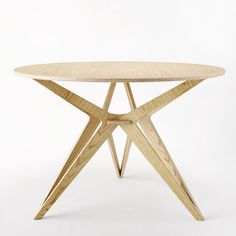 Plywood Chic - Unto This Last Round Table