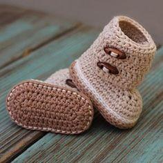 Indie boots crochet pattern by Inventorium  $5.50