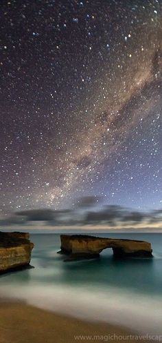 ♥ Milky Way. Great Ocean Road. Victoria, AUSTRALIA