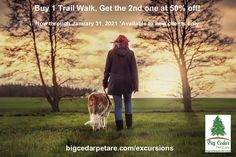 New Client Special! Buy 1 Trail Walk, get the 2nd one at 50% off! Hurry - this offer ends January 31, 2021! Dog Walking Services, Beach Adventure, 2nd One, Buy 1, Pet Care, Your Dog, Trail, January, Pets