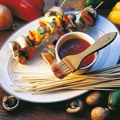 Här hittar du ett läckert recept på Grönsaksspett. Botanisera bland massor med recept, tips och inspiration.