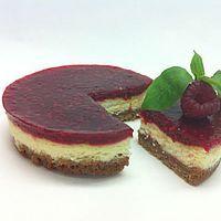 Cheesecake spéculoos framboise