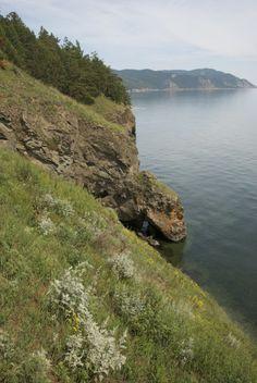 Western shore of Lake Baikal, Russia