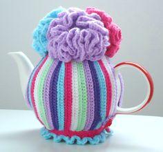 Lydias Treasures: Love this Crochet Teacosy Pattern