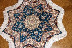 スターの形手織りペルシャ絨毯タブリーズ27904