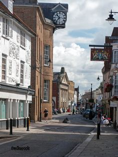 Hertford: A Beautiful Market Town Fore Street Hertford. Places Ive Been, Places To Visit, Ireland Uk, Places In England, Stevenage, St Albans, England And Scotland, In Ancient Times, Harry Potter