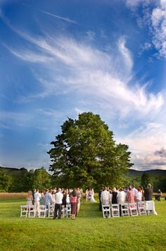 This is the Red Barn at Hampshire College where our wedding ceremony will be!