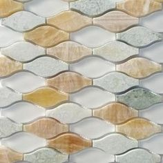 Splashback Tile Micro Grass Seed Glass and Marble Floor and Wall Tile - 3 in. x 6 in. Tile Sample SMP-MICRO-GRASS-SEEDSAMPLE at The Home Depot - Mobile