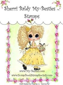 My Besties Stamps - Banna Pie Clear Stamp