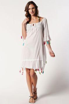 Afrodit Oyalı Crushed Elbise 1