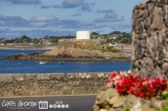 Fort Grey or Châté dé Rocquoïne in Guernésiais, better known as the Cup & Saucer, is one of the three Martello towers on Guernsey. #GreatThings  Link to the whole collection of 'Georgie's Pic Of The Day' :-http://chrisgeorge.dphoto.com/#/album/4daaes  Picture Ref: 23_08_15 — at Rocquaine Bay, Guernsey.