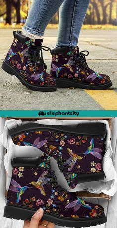 🐦All-season boots for bird lovers!🐦 ✅ Waterproof💧 ✅ Vegan-Friendly🌿 ✅ Micro Suede Material ✅ Removable Memory Foam Insole ✅ Right Fit Guarantee👟 ✅ Over 40000 Satisfied Customers🤗 Sock Shoes, Cute Shoes, Me Too Shoes, Shoe Boots, Fashion Shoes, Fashion Outfits, Womens Fashion, Neue Outfits, Painted Shoes