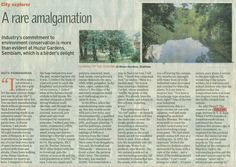 """Industry's commitment to environment conservation is more than evident at Huzur Gardens, Sembiam, which is a birder's delight"", - The Hindu.  Have you ever wondered why the Sembiam Estates are also know as Huzur Gardens? If no, here is the answer as discovered by The Hindu news daily on TAFE CAFE - our corporate news site.  For more such trivia on Huzur Gardens, check TAFE CAFE now:http://tafecafe.org/node/110  Courtesy: The Hindu 