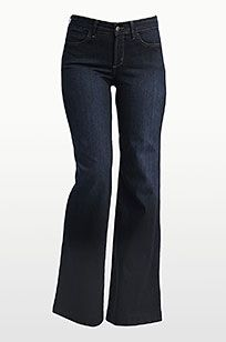 Not your daughters jeans-NYDJ My favorite jeans ever! They don't stretch out , they're long enough to wear with heels and they don't show your butt crack!