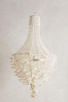 Hand-knit Chandelier | Anthropologie