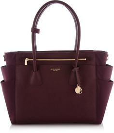 on The West Baby Bag is a must-have designer handbag for moms (and babies) with an eye for chic style.The West Baby Bag is a must-have designer handbag for moms (and babies) with an eye for chic style. Cute Handbags, Mk Handbags, Beautiful Handbags, Beautiful Bags, Fashion Handbags, Purses And Handbags, Fashion Bags, Leather Handbags, Cheap Handbags