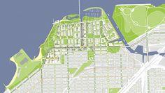 SOM : Chicago Lakeside Master Plan