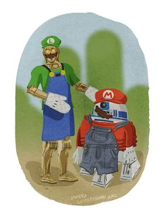 What Would STAR WARS Droids Dress Up As For Halloween?