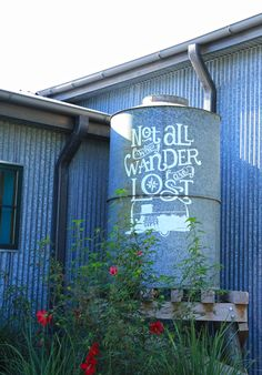 """""""Not all those who Wander are Lost"""" ~  Junk Gypsy~ Round Top Texas"""