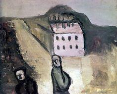 Александр Древин Двое в городе. 1931