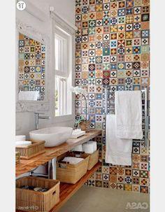 30 idées de déco bohème repérées sur Pinterest : la salle de bain (1) - Pinterest