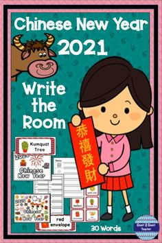 Chinese New Year 2021 is the year of the OX! Learn about the festivities with this Write the Room that includes a variety of literacy activities. Print on card stock and laminate for reuse and… More