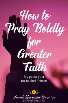 How to Pray Boldly for Greater Faith Do you know how to pray boldly? Bold prayers require strong faith, and they can strengthen our walk with God. Today I'm writing about how to pray boldly. Christian Post, Christian Living, Christian Faith, Christian Girls, Women Of Faith, Faith In God, Daily Prayer, Prayer Book, Prayer Circle