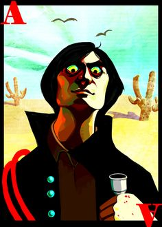 The Villain Alphabet: [link] A is for Anton Chigurh. Anton, portrayed by the talldarknhandsome Javier Bardem, is the 'ultimate badass' of No C. A is for ANTON CHIGURH Mediums Of Art, Man Movies, Animation, The Villain, Old Men, Anton, Design Projects, Illustration, Disney Characters
