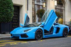 Baby Blue Aventador