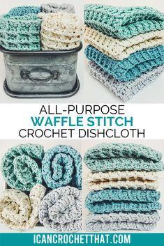 Stitch Crochet, Crochet Geek, Easy Crochet, Dishcloth Crochet, Crochet Dishcloths Free Patterns, Crochet Pattern Free, Crochet Scrubbies, Crochet Stitches Free, Crochet Braid