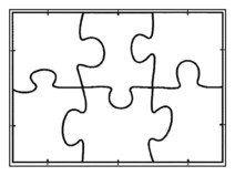 puzzle vorlage basteln pinterest ausdrucken puzzle und vorlagen. Black Bedroom Furniture Sets. Home Design Ideas