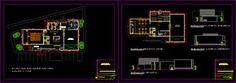 imagen Planos de Galeria de arte en DWG AUTOCAD, Centros culturales salas de exposición museos y stands - Proyectos