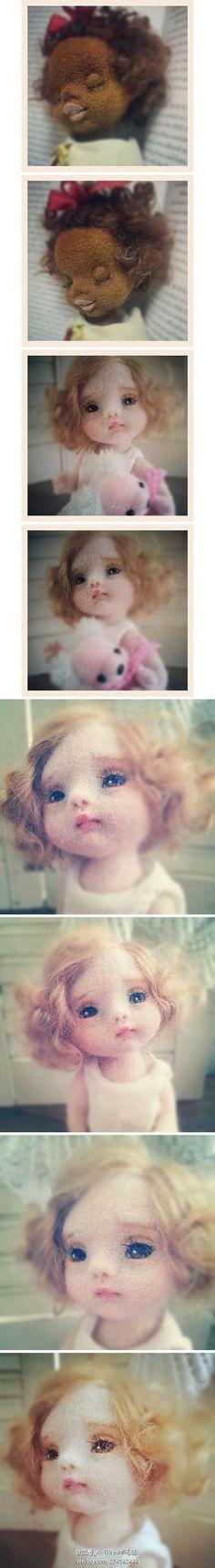 羊毛毡洋娃...来自M-Y-SecondRound的图片分享-堆糖