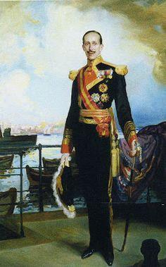 Fernando Alvarez de Sotomayor, Alfonso XIII.