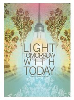 Light Tomorrow 5x7 Card