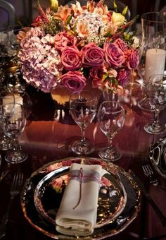 Table decoration...