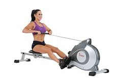 Stamina Cardio Magnetic Rowing Exercise Equipment Machines Perfect Home Workout Fitness Eight Level Resistance Settings Grip Right Handles Slip Proof Foot Pedal Portable Wheels LCD Display Settings *** More info could be found at the image url.
