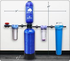 Rhino Whole House Water Filter System Eq 300 Well By Aquasana