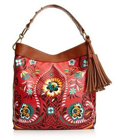 Carlos by Carlos Santana Handbag, Stella Americana Tour Bag - Hobo Bags - Handbags & Accessories - Macy's