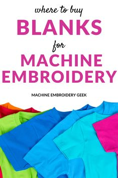 Used Embroidery Machines, Brother Embroidery Machine, Machine Embroidery Projects, Embroidery Supplies, Machine Embroidery Applique, Embroidery Blanks, Embroidery Monogram, Embroidery Files, Embroidery Stitches