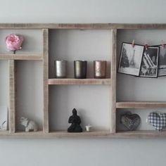 steigerhouten wanddecoratie - fotowanden | pinterest - decoratie, Deco ideeën