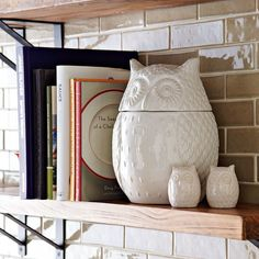Owl Salt + Pepper Shakers | west elm