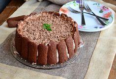 Torta veloce pavesini e nutella fredda,un dolce senza cottura cremoso e goloso!Un dolce semplicissimo,a prova di imbranati!