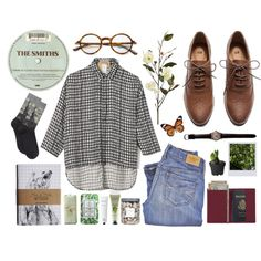 check me out by ahvela on Polyvore featuring N°21, HOT SOX, H&M, Royce Leather, Tom Ford, Fresh, Rodin Olio Lusso, Pier 1…